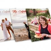 The Celebrant magazine covers
